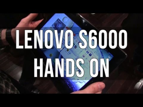 Lenovo S6000 budget Android tablet