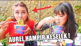 Download Video LOMBA MAKAN LAWAN AUREL HERMANSYAH ! *Hampir Keselek* MP3 3GP MP4