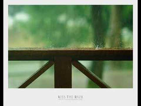 Besa la lluvia....