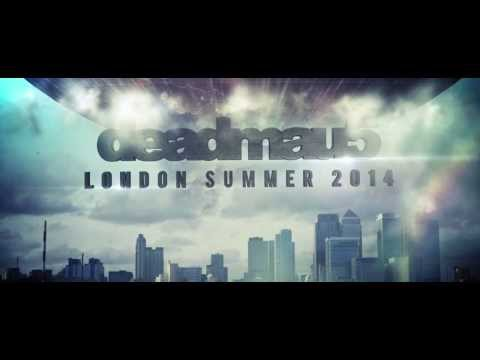 deadmau5 encounters London. Summer 2014.