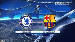 Video PES 2018 | Chelsea FC vs FC Barcelona | UEFA Champions League (UCL) | Gameplay PC MP3, 3GP, MP4, WEBM, AVI, FLV Februari 2018