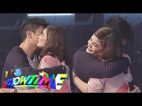 'It's - The VhongAnne love team were teased by the Madlang People to kiss on the show's Arte Mo segment. Subscribe to the ABS-CBN Online channel! - http://bit.ly/ABSCBNOnline Watch the full episodes...
