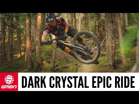 Riding Whistler's Unreal 'Dark Crystal' Trail   GMBN Epic Rides