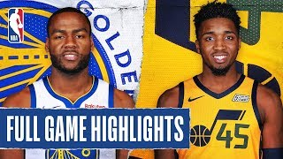 WARRIORS at JAZZ   FULL GAME HIGHLIGHTS   December 13, 2019 by NBA