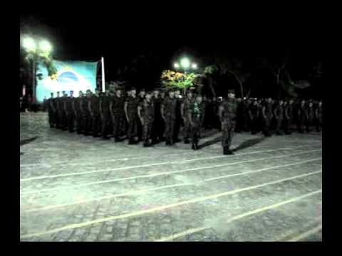 Aniversário do 59º BIMtz - 2011 - Oração do Guerreiro de Caatinga
