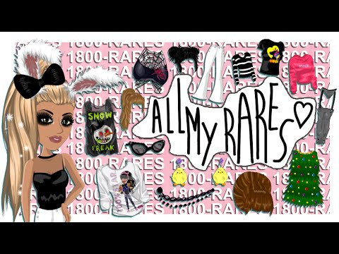 All My Rares (girl Edition)