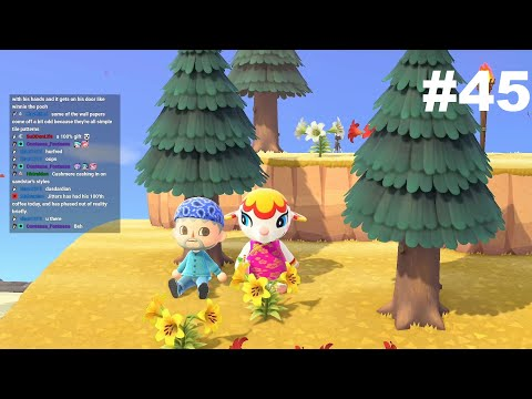 Animal Crossing New Horizons Stream VOD #45 (24/11/20): Doors, Deena and Adorableness