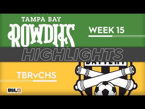 Tampa Bay - Чарлстон 1:1. Видеообзор матча 16.06.2019. Видео голов и опасных моментов игры