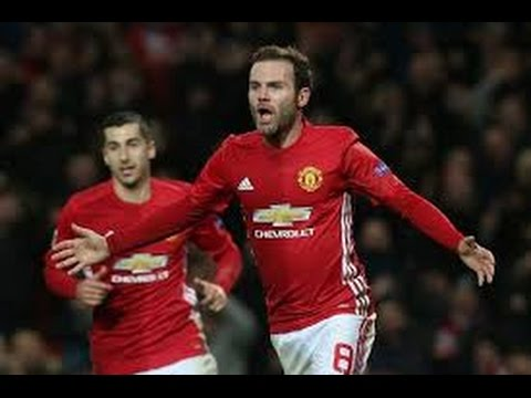 Manchester United vs Feyenoord 4--0 Goals &  Highlights 24 11 2016