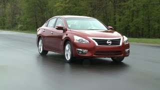 2013 Nissan Altima First Drive From Consumer Reports