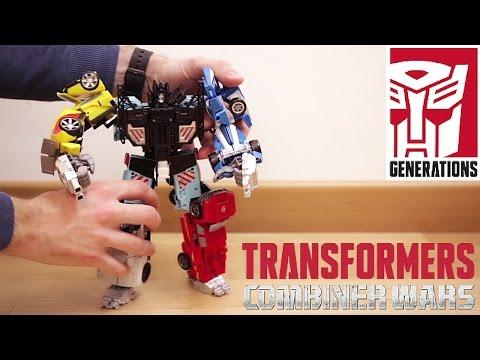 TRANSFORMERS Combiner Wars: COSTRUISCO un MEGA ROBOT!