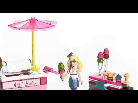 Video New  video for the Barbie  Build n Style Ice Cream Cart