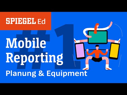 Mobile Reporting: Planung und Equipment | Videoworksho ...