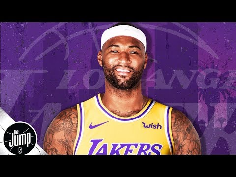 Video: DeMarcus Cousins, Rajon Rondo sign with the Lakers | The Jump
