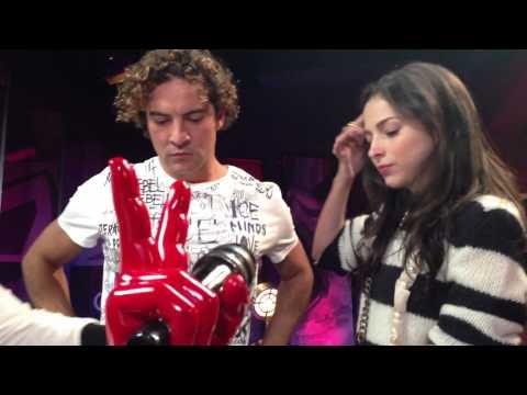 La Voz México: detrás de cámaras con Marco Antonio Solis y Paty Cantú