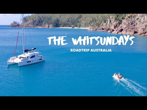 HOW TO SWAP YOUR VANLIFE FOR A YACHT LIFE!! Cruising the Whitsundays - RoadTrip Australia