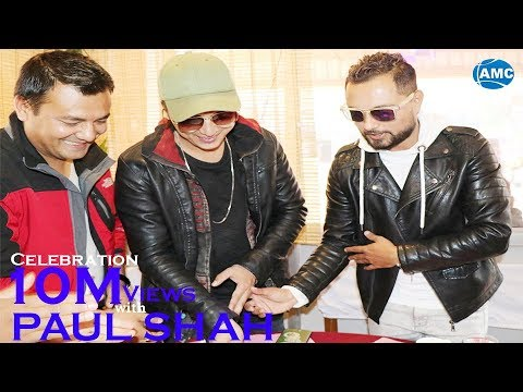 (Paul Shah || Kamal K Chhetri || Celebration of 10 million views of 'I Love You' by Asian Music - Duration: 10 minutes.)