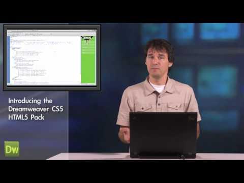 Dreamweaver CS5 HTML 5 Pack