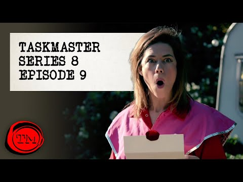 Taskmaster - Series 8, Episode 9 | Full Episode | 'I've been a bit ill'