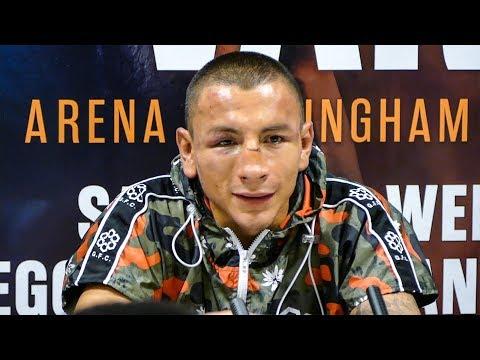 Samuel Vargas ON LOSS | Post Fight Conference vs Amir Khan