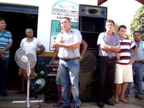 INAUGURAÇÃO DO CENTRO DA JUVENTUDE EM BURITI DO TO