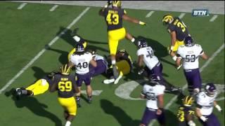 2015 Michigan Football highlights v.  Northwestern