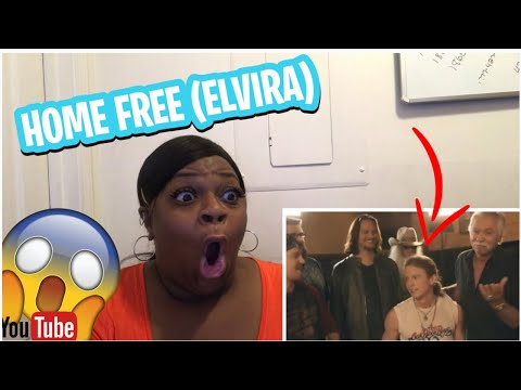 FIRST TIME REACTING TO-HOME FREE- ELVIRA (feat. The Oak Ridge Boys)