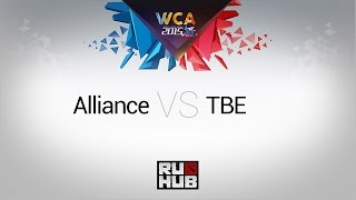 TBE vs Alliance, game 1