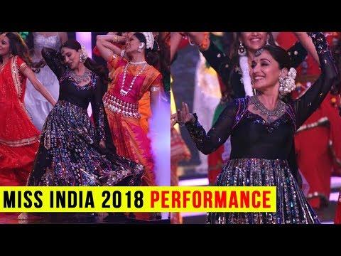 Femina Miss India 2018 : Madhuri Dixit Stunning Pe