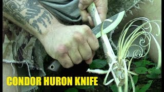 Will Myers emerges out from under the rock he was hiding under to review the Huron Knife by Condor (designed by Joe Flowers).BUY ONE: https://www.knifecenter.com/item/CN2806425/condor-tool-knife-ctk2806-425-navajo-knife-huron-fixed-carbon-steel-blade-walnut-handles-leather-sheath