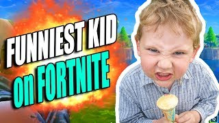 Fortnite - THIS KID IS FUNNY