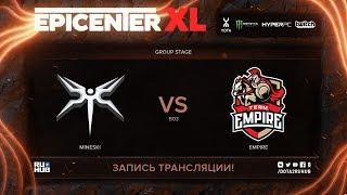 Mineski vs Empire, EPICENTER XL, game 1 [Maelstorm, Jam]