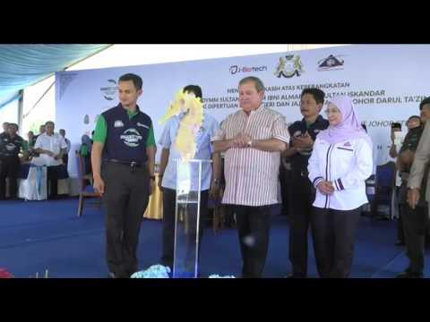Pelancaran Buku Kuda Laut Johor dan Pelepasan Kuda Laut di Tapak RAMSAR Oleh DYMM Sultan Johor