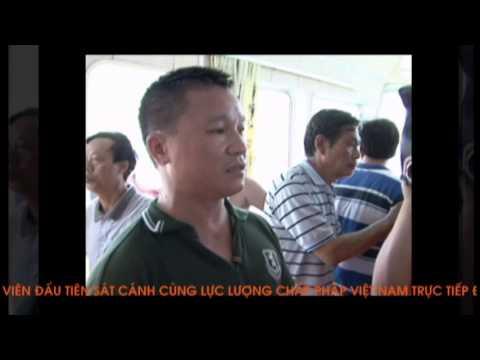Lực lượng chấp pháp Việt Nam đối mặt với tàu Trung Quốc ở Hoàng Sa