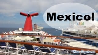 Cozumel Mexico  city photos gallery : Arriving in Cozumel Mexico! Carnival Cruise Lines FUN SHIP Vlog episode 9