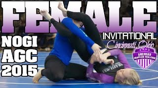 AGC Female Nogi Invitational, Cincinnati BJJ Fall 2015