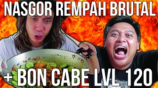 Video PANASSSS!!! NASI GORENG REMPAH BRUTAL + BON CABE LVL 60 & 120 | Ayo Makan | GERRY GIRIANZA ft. BLACK MP3, 3GP, MP4, WEBM, AVI, FLV Januari 2018