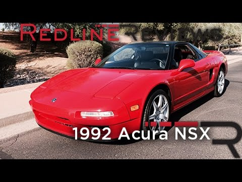 Acura NSX Redline Review: 1992 Acura NSX