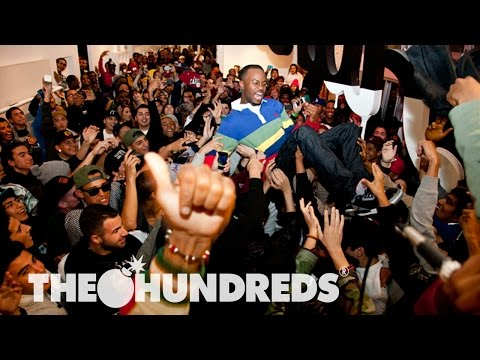 0 The Hundreds Santa Monica 1 Year Anniversary Video