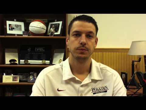Matt Logie men's basketball Jan. 5, 2015