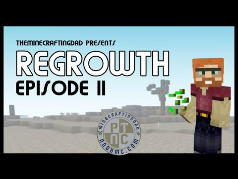 FTB Regrowth (Modded Minecraft) Lets Play - Episode 11  - Iron and Copper Ore Seeds