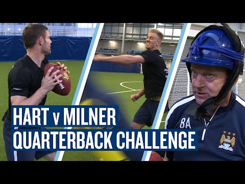 Video: SUPERBOWL CHALLENGE | Hart v Milner