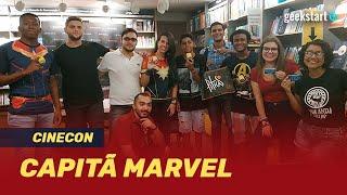 Kinoplex - CAPITÃ MARVEL: Cinecon  GeekstartTV