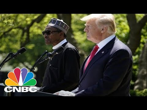Nigerian President Buhari Dodges Question On President Trump's 'S---hole Countries' Comment | CNBC