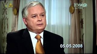Lech Kaczyński masakruje PIS i jego działania