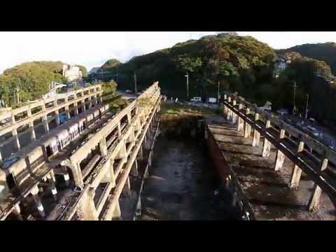 空拍基隆八尺門阿根納造船廠