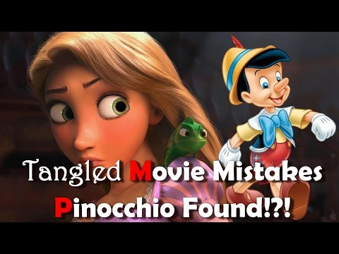 10 Best Tangled MOVIE MISTAKES Movie You Totally Missed | Disney Tangled MOVIE MISTAKES
