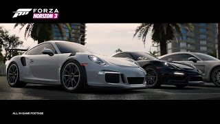 Seven amazing Porsche models arrive today with the Porsche Car Pack for Forza Horizon 3. The kick-off to Porsche and Forza's new six-year partnership, the Po...
