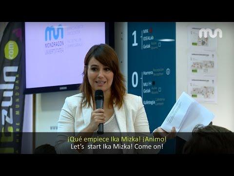 Ika Mizkak Oñatin egin zuen saioan eginiko erreportajea