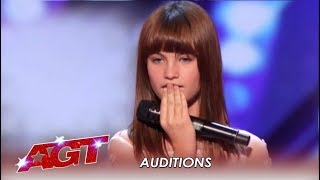 Video Charlotte Summers: 13-Year-Old Girl's Voice Will BLOW You Away! | America's Got Talent 2019 MP3, 3GP, MP4, WEBM, AVI, FLV Agustus 2019